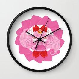 Spinning Senshi - Small Lady Wall Clock