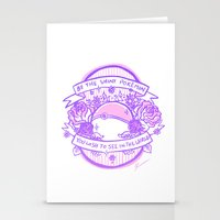 kendrawcandraw Stationery Cards featuring Be the Shiny by kendrawcandraw