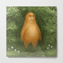 His name is Omlette Metal Print