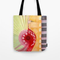 deco Tote Bags featuring Deco by angela deal meanix