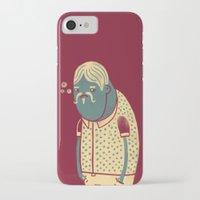 drunk iPhone & iPod Cases featuring Drunk by Renato Klieger Gennari