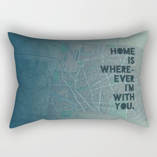 Home is with You Rectangular Pillow