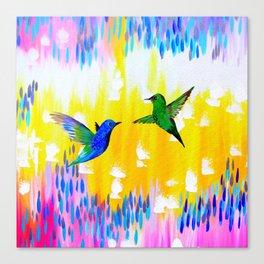 Hummingbird Sunrise Canvas Print