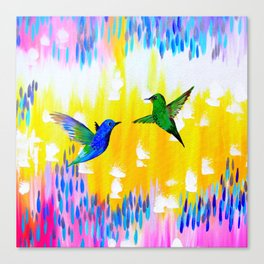 Hummingbird Sunrise Canvas Print