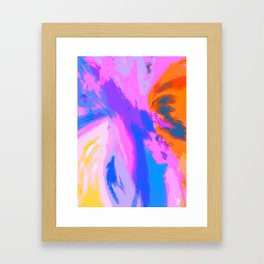 Abstract Untitled Creation by Robert S. Lee Framed Art Print