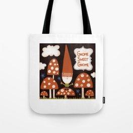 Gnome Sweet Gnome Tote Bag