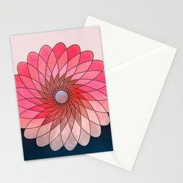 Pink shining gyro Stationery Cards
