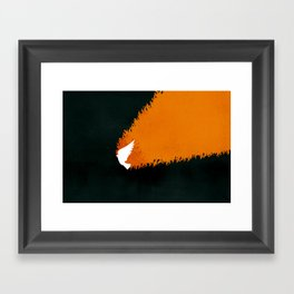 Tongues of Fire (by Brian Danaher) Framed Art Print