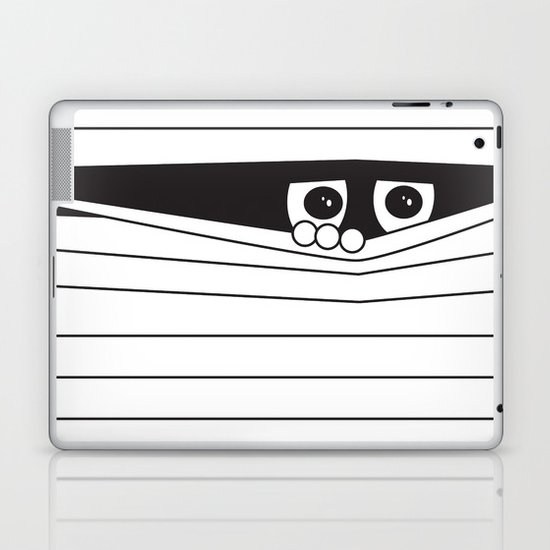 Watching. Laptop & iPad Skin