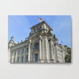 Reichstag, Berlin, Germany Metal Print