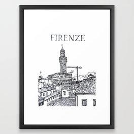 Firenze (Florence, Italy) Framed Art Print