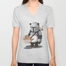 The Pandalorian Unisex V-Neck