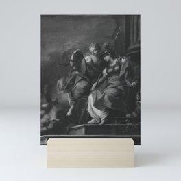 Sebastiano Conca - Fortitudo und Prudentia Mini Art Print