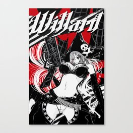 Buxom Wench: Pirate Canvas Print