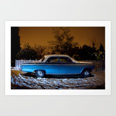 cold Impala - West Seattle Art Print