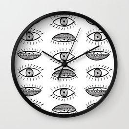 Won't Close My Eyes Wall Clock