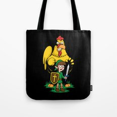 The Legend of Ernie (dark background) Tote Bag