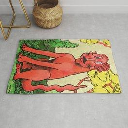 Devil Dog Rug