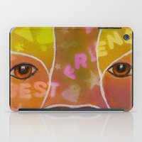 best friend iPad Cases featuring Best Friend by Roger Wedegis