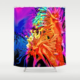 18. Crown of Thorns Shower Curtain
