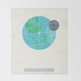 Earth I Throw Blanket