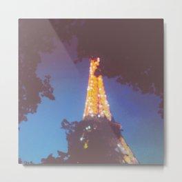 Paris 2 Metal Print