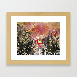 In Search Of... Framed Art Print