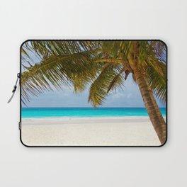 Tropical Beach Laptop Sleeve