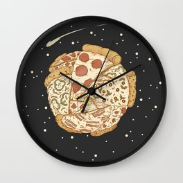Pizza World Wall Clock