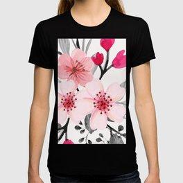 FLOWERS WATERCOLOR 11 T-shirt