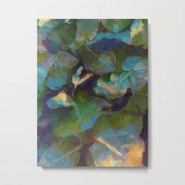 Dappled #botanical #nature #watercolor #society6 Metal Print
