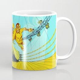 Luchador Lime Coffee Mug