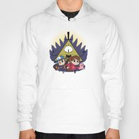 gravity falls Hoodies featuring Gravity Falls by Matt Tichenor