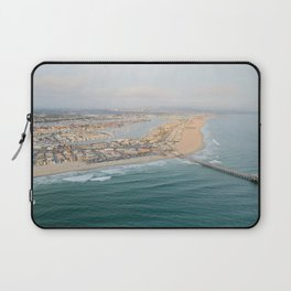 Newport Beach Pier Laptop Sleeve