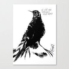 Black one Canvas Print