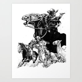 The Pursuit Art Print