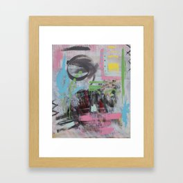 Read it Out Load Framed Art Print