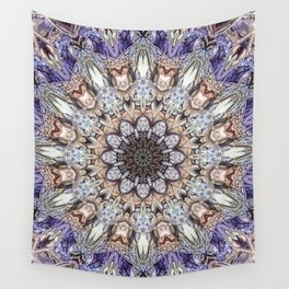 Abstract Gemstones Wall Tapestry