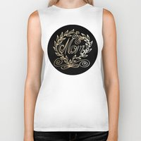 mom Biker Tanks featuring Mom by ArtLovePassion