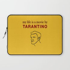 My life is a movie by Tarantino Laptop Sleeve