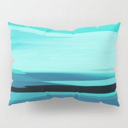 Soft Determination Aquamarine Pillow Sham