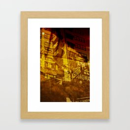 New York Series #2 Framed Art Print