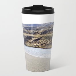 In the middle of nowhere, Iceland Travel Mug