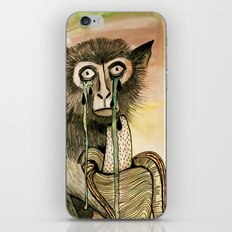 Sad Monkey iPhone & iPod Skin