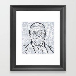 Flow-ers Framed Art Print