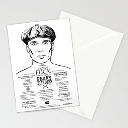 Tom Shelby  Ink'd Series Stationery Cards