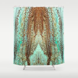 mirror1 Shower Curtain