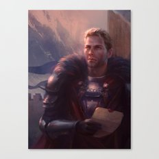 Cullen - Waiting Canvas Print
