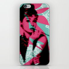 Audry  iPhone & iPod Skin