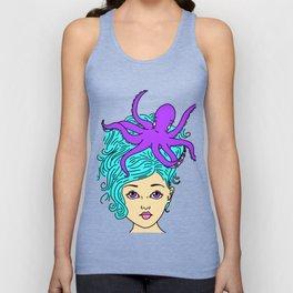 Mermaid Hair Unisex Tank Top
